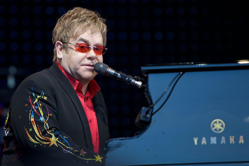 Elton John piano