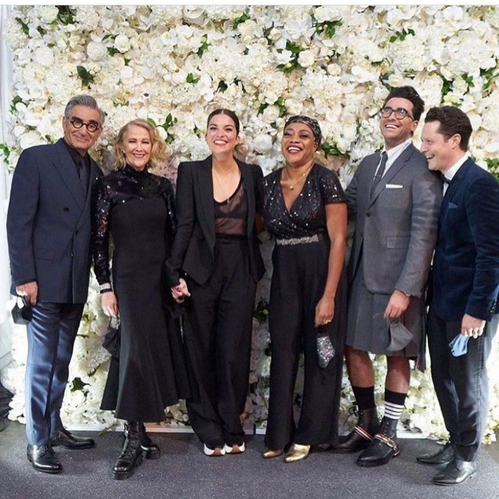 Schitt's Creek Cast at the Emmys