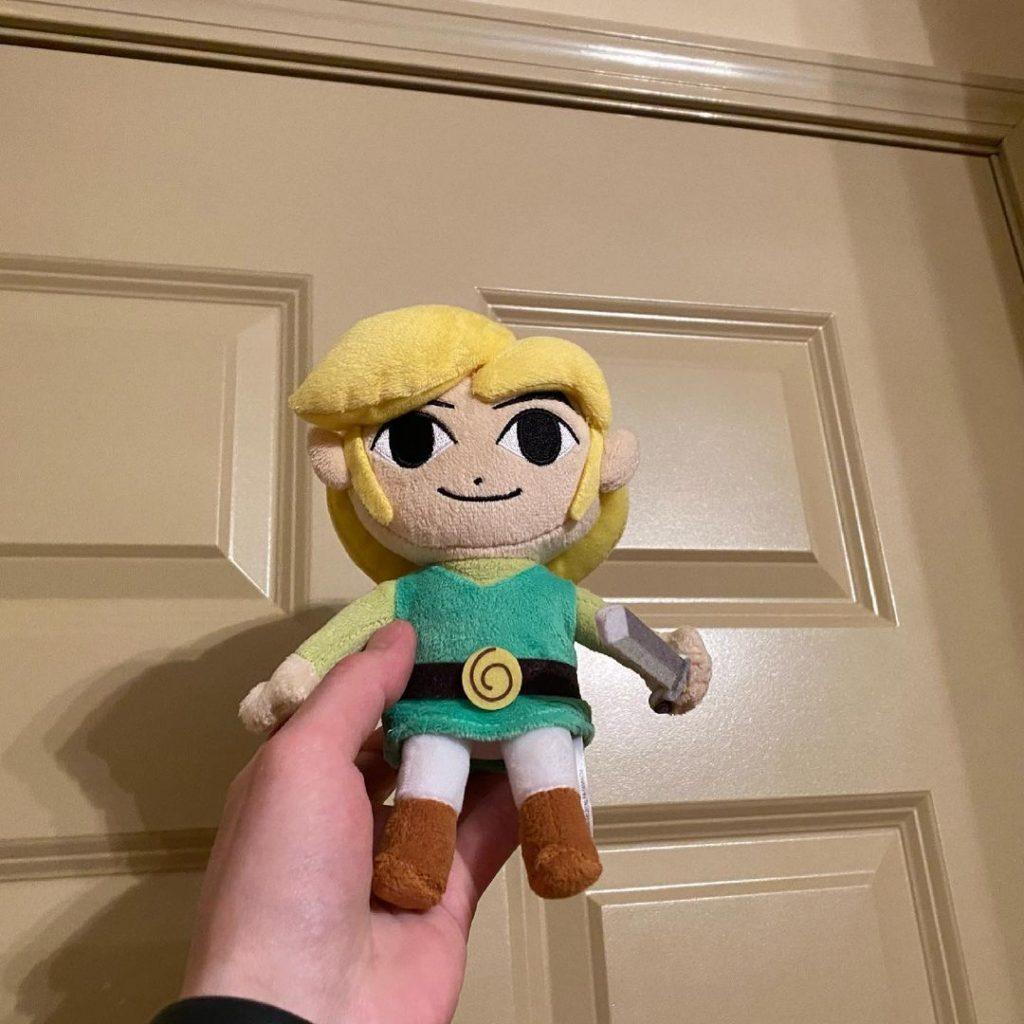 Link doll from Zelda