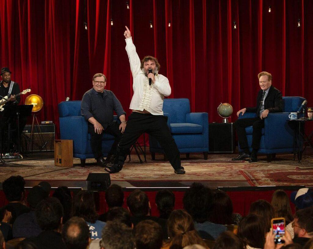 Andy Richter, Jack Black & Conan O'Brien