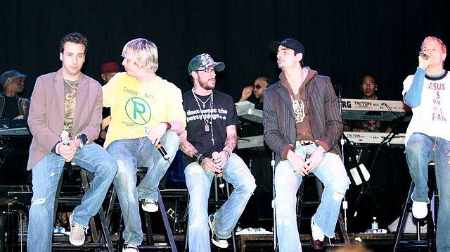 Backstreet Boys interview 2004