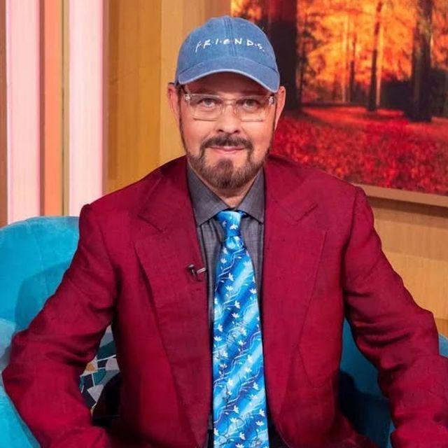 James Michael Tyler in 'Friends' hat
