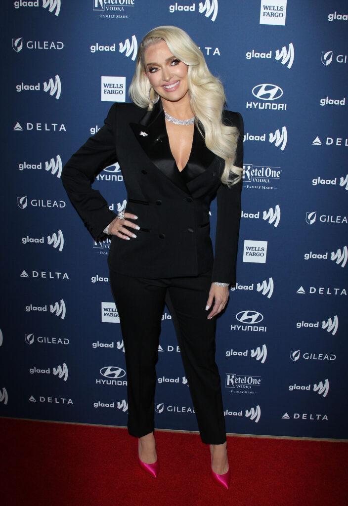 Erika Jayne at the GLAAD Awards
