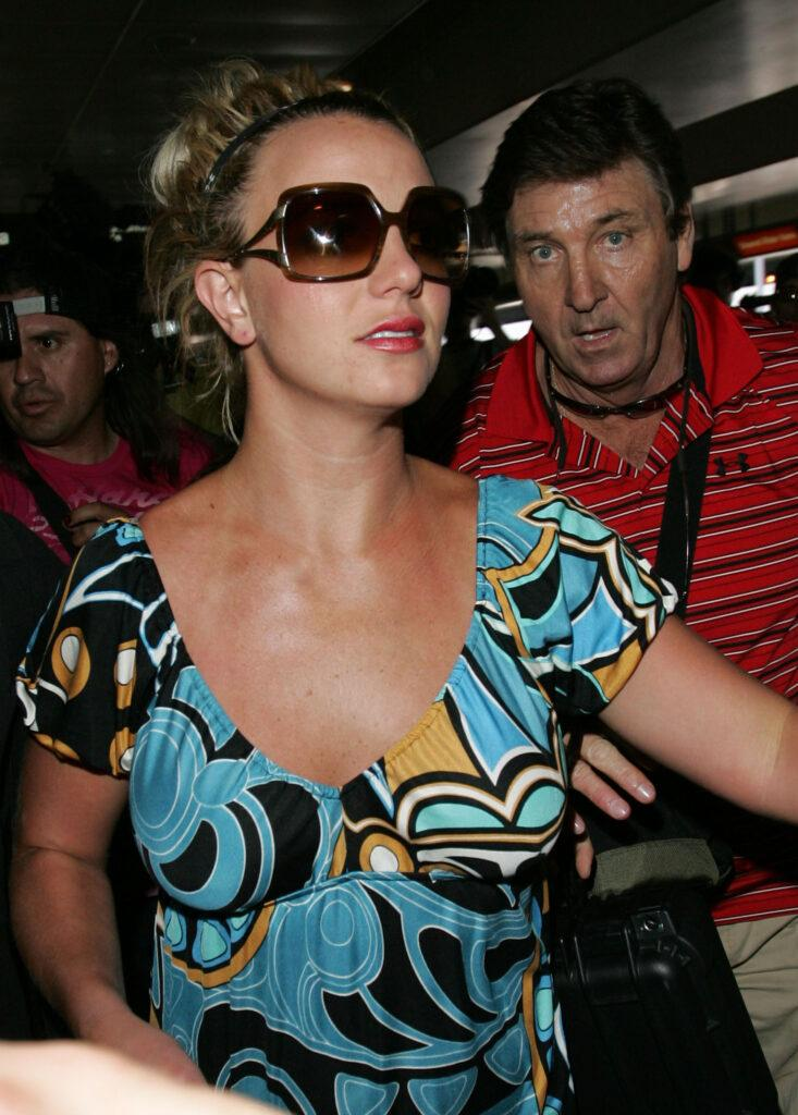 Britney Spears And Father Jamie Spears