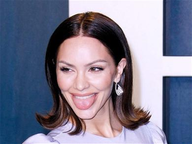 Katharine McPhee Is One Thirsty Mama! Pounds A Beer In the Kiddy Pool With Baby Rennie