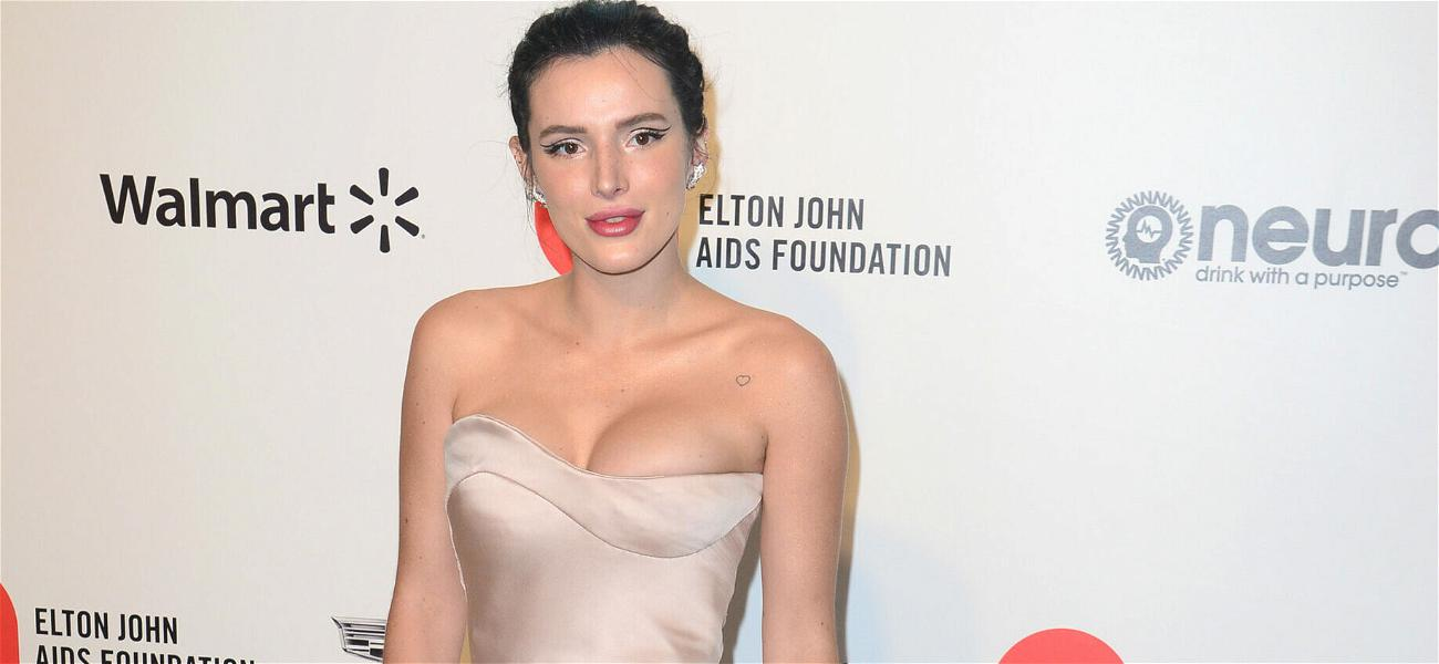 Baewatch: Bella Thorne Makes Lifeguard Joke In Red One-Piece Suit!