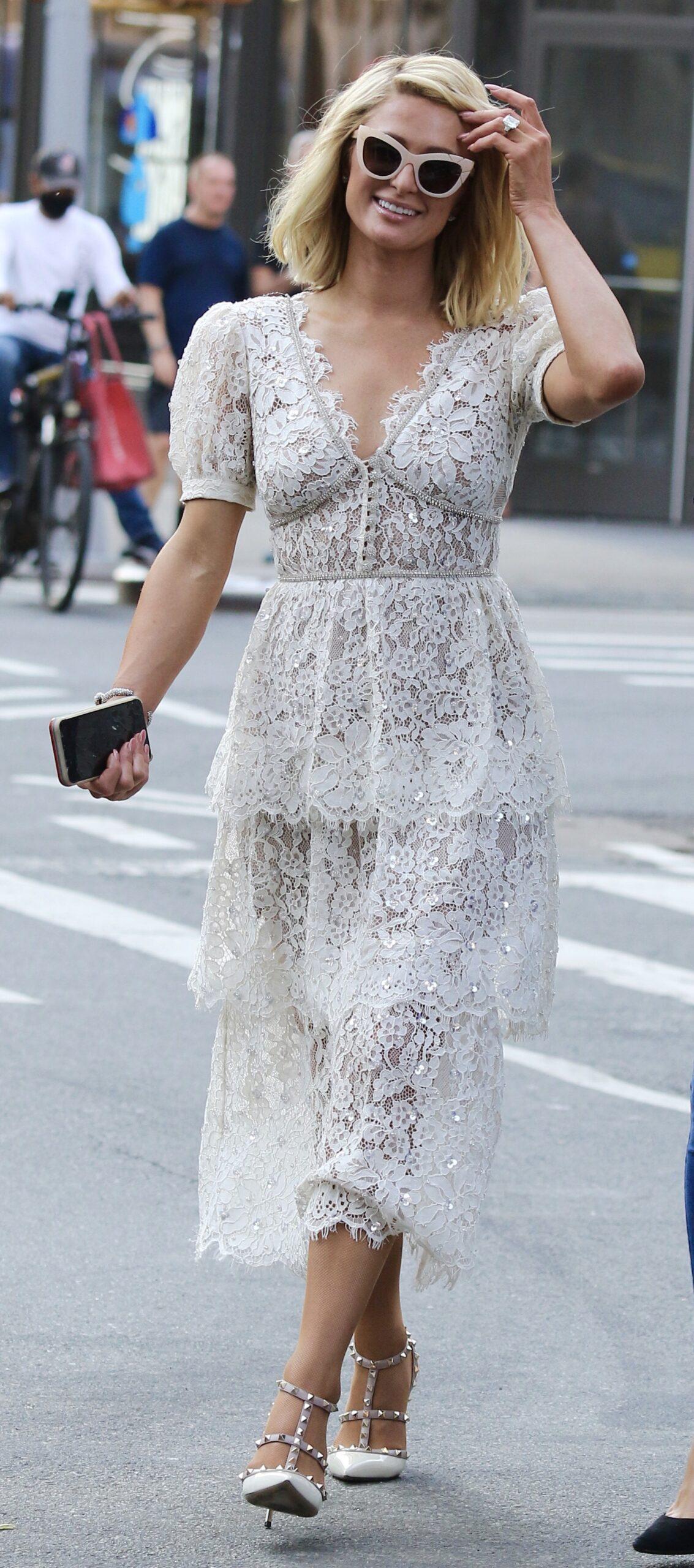 Paris Hilton in NYC.