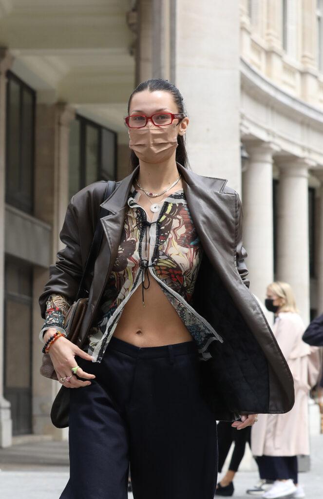 Bella Hadid seen in Paris