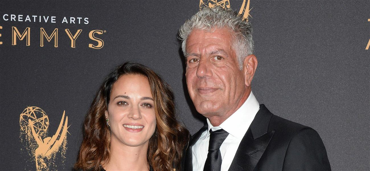 Anthony Bourdain Honored By Asia Argento On What Would Be His 65th Birthday