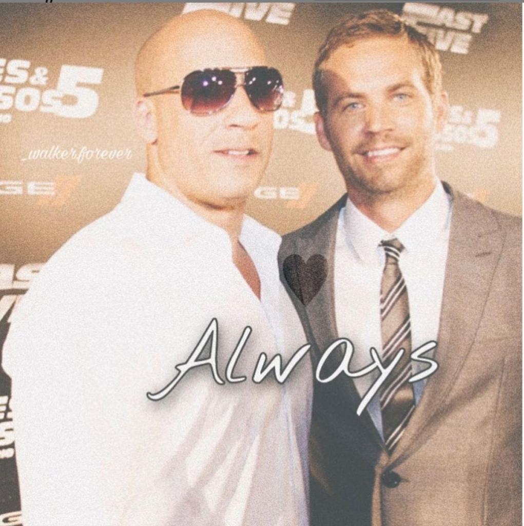 Vin Diesel & Paul Walker at the 'Fast 5' premiere