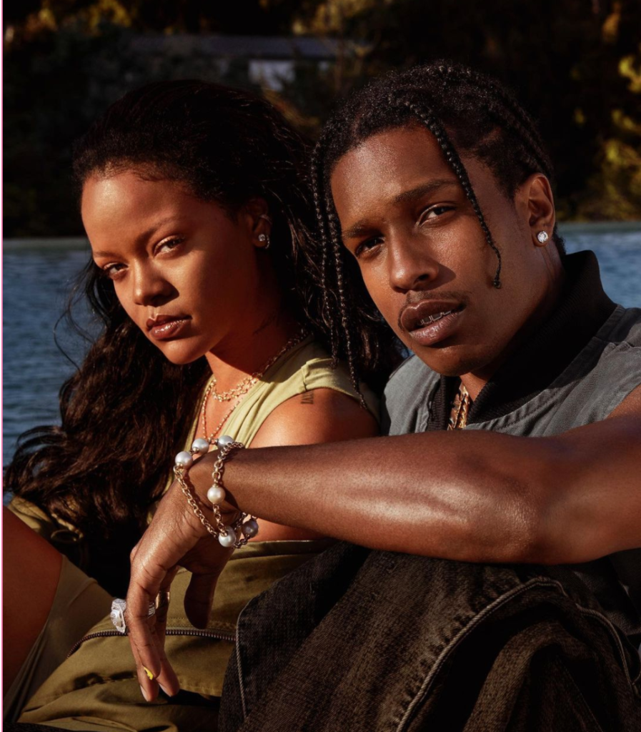 Rihanna & A$AP Rocky together