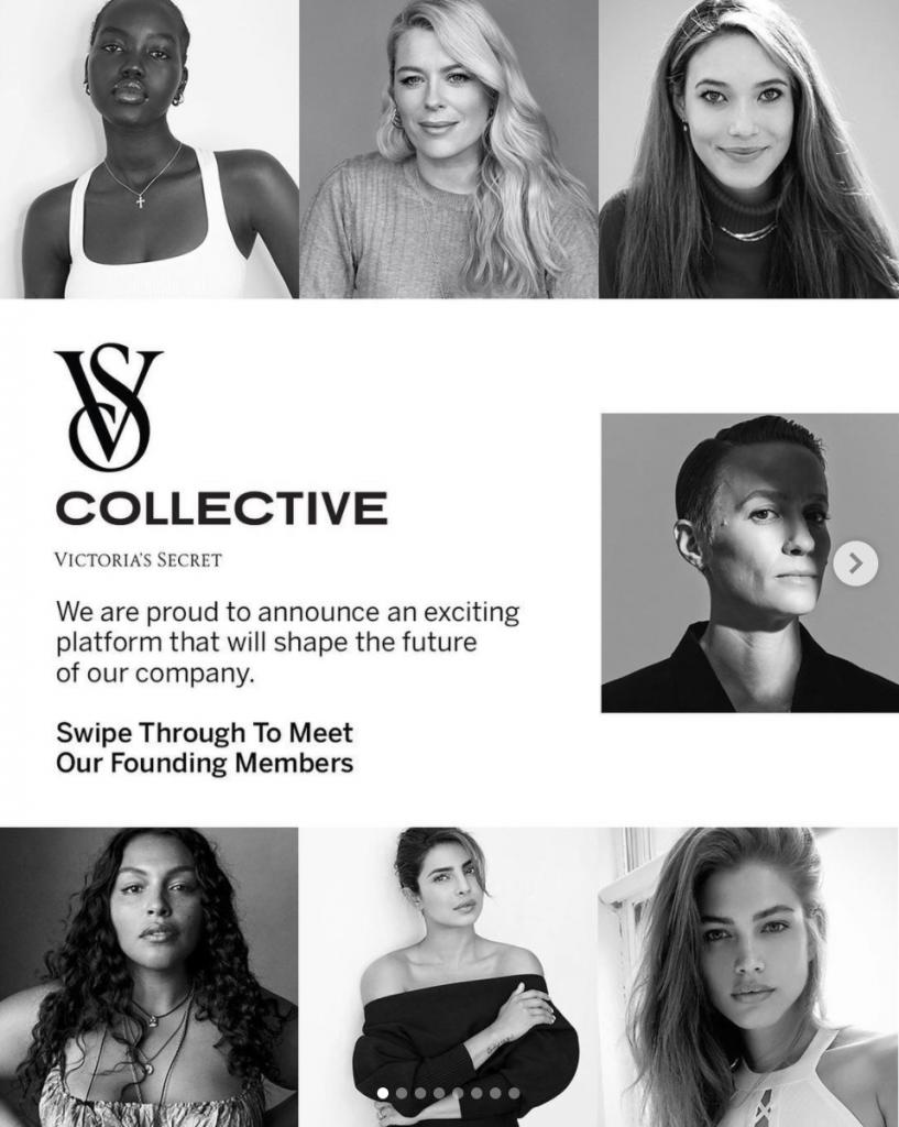Faces of the Victoria's Secret Collective