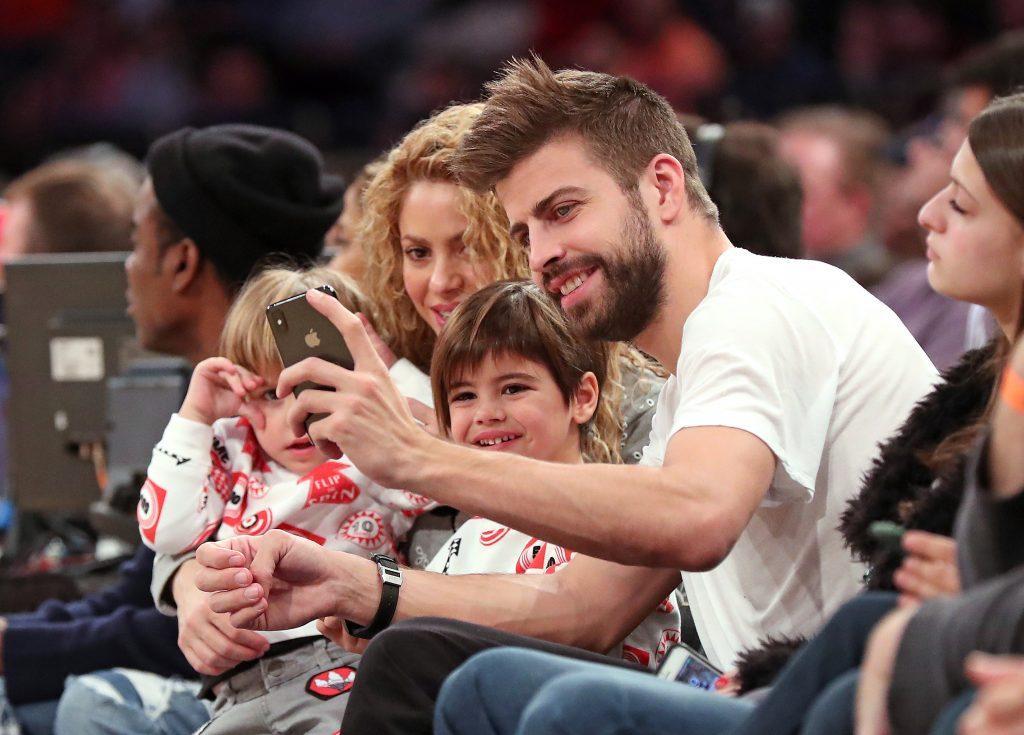 Celebs at New York Knicks