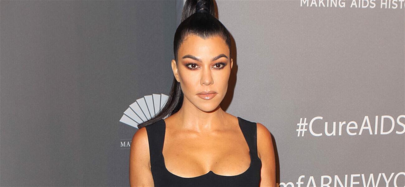 Kourtney Kardashian Shows Off New Grills In Flirty Instagram Selfies