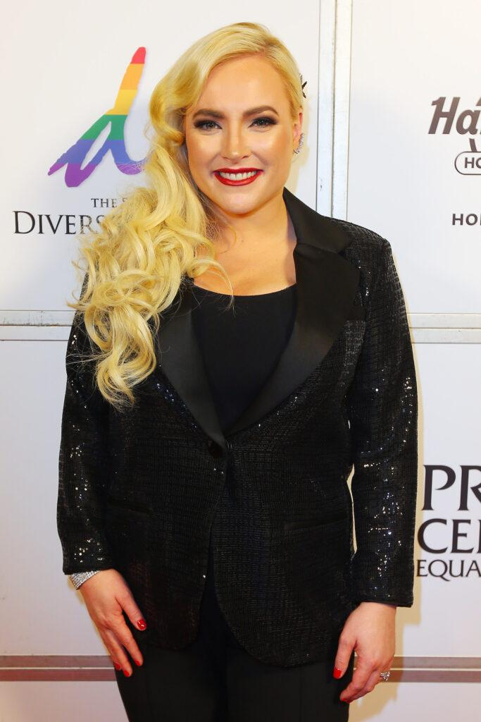 Meghan McCain receives the Lilla Watson Medal during the Diversity Honors dinner