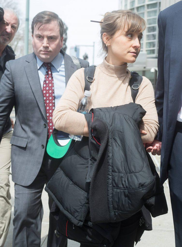 Allison Mack pleas guilty to racketeering