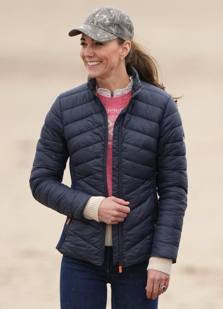 William and Kate go land yachting in St Andrews