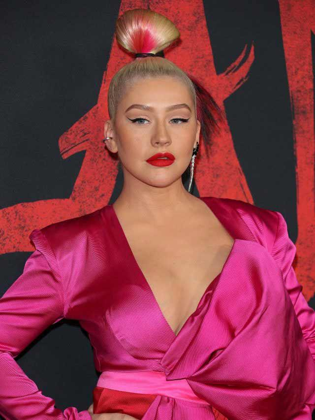 Xtina Breaks Silence About Britney