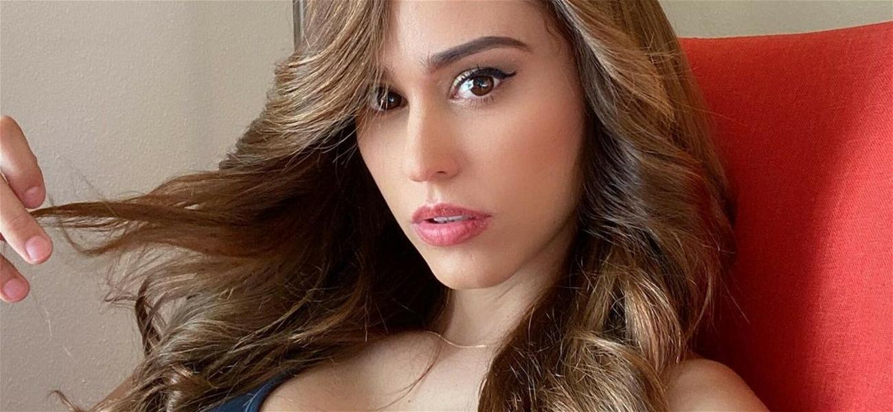 'World's Hottest Weather Girl' Yanet Garcia Smolders In Red Lingerie