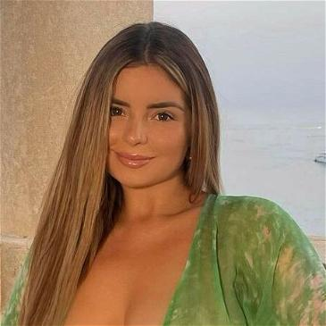 Demi Rose Goes Naked Under Sheer Beach Cover-Up