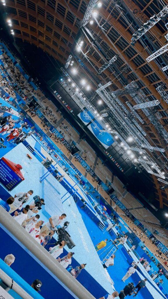 Olympics in Tokyo, Japan