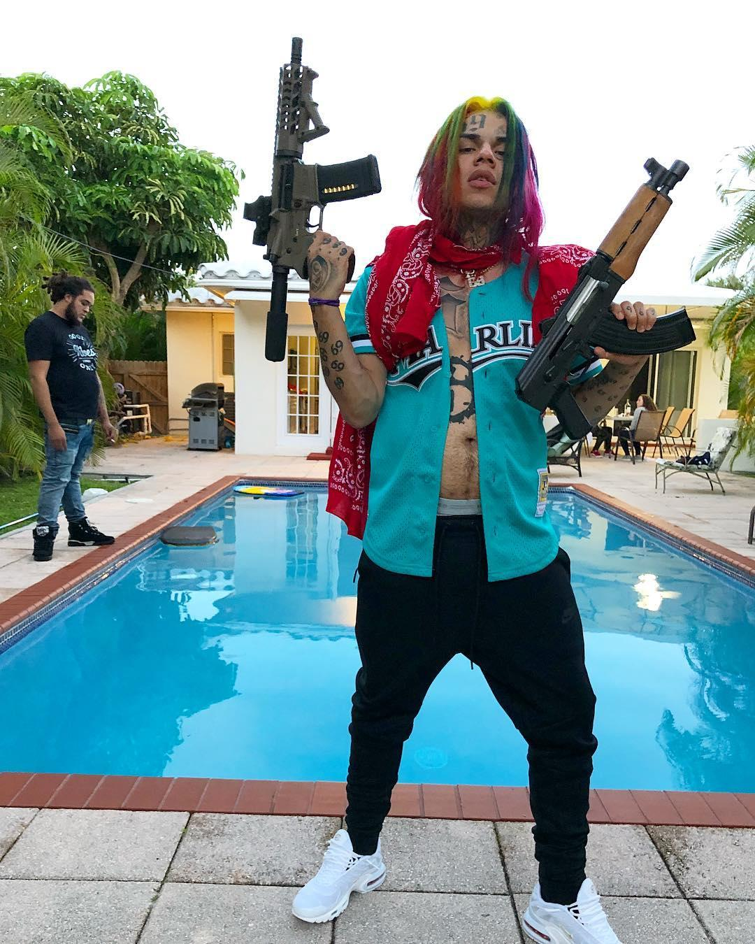 Tekashi 6ix9ine's Security Team Indicted For Robbery, Impersonating A Police Officer