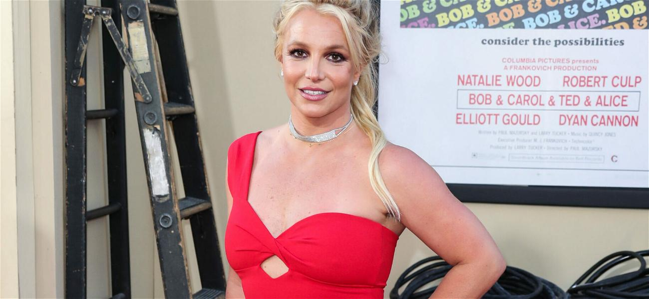 Britney Spears Is Ready To 'Burn Bridges' With FOURTH Topless Shot!