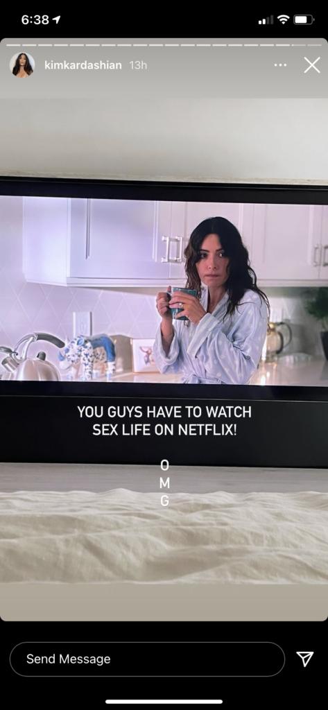 "A still image from Netflix' ""Sex/Life"""
