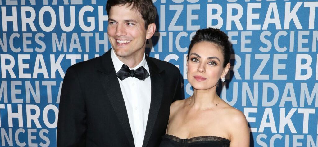 Ashton Kutcher & Mila Kunis Share Shocking Bathing Routines
