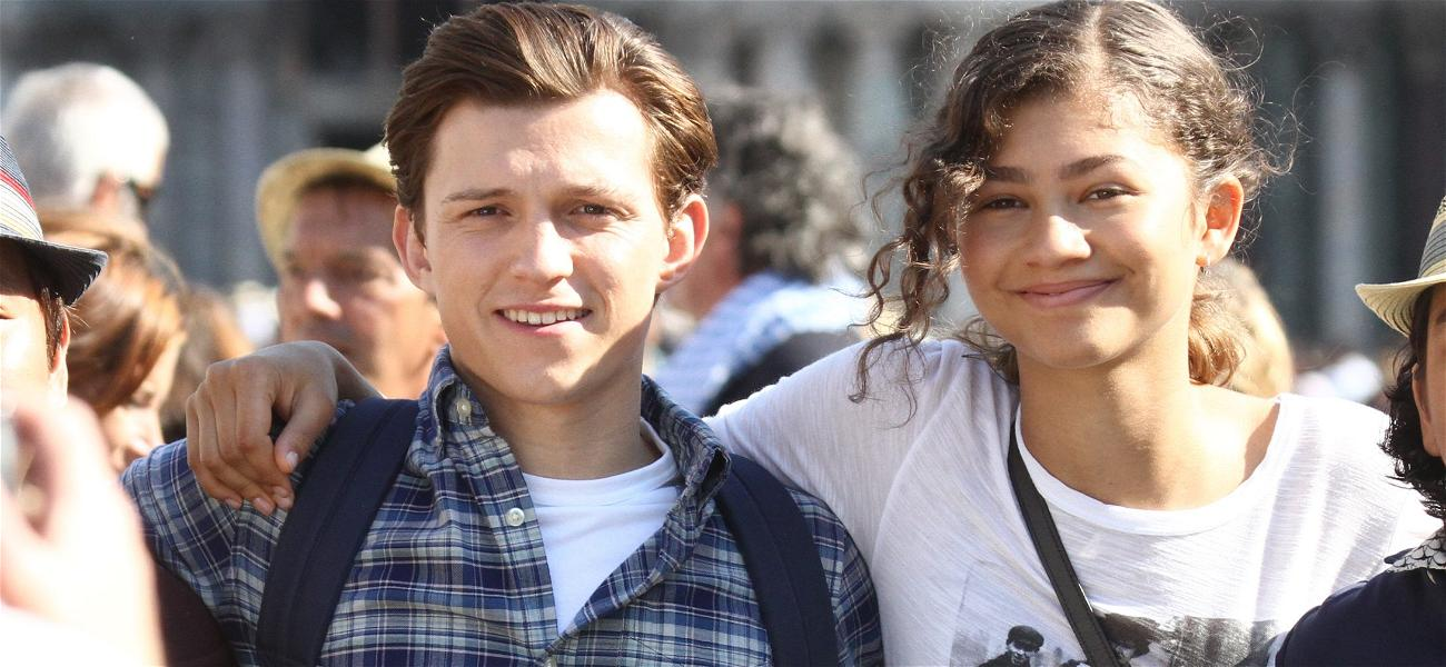 Zendaya and Tom Holland Share A STEAMY Kiss After Denying Romantic Relationship!