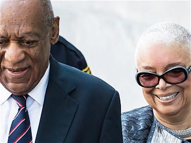 Bill Cosby's Wife, Camille, Spotted In New York WITHOUT A Wedding Ring!