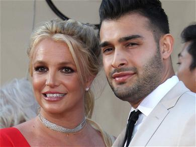 Britney Spears Engaged To Sam Asghari?! Spotted Wearing Massive Diamond Ring!