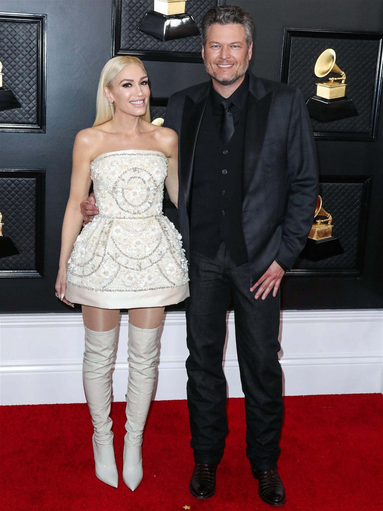 Gwen Stefani Shares Throwback Videos Of Emotional Moment She Said Yes To Her Vera Wang Wedding Gown