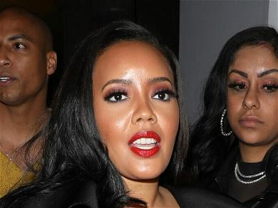Angela Simmons Rips Latex Pants After Only 10 Minutes; 'Don't Over Lubricate'
