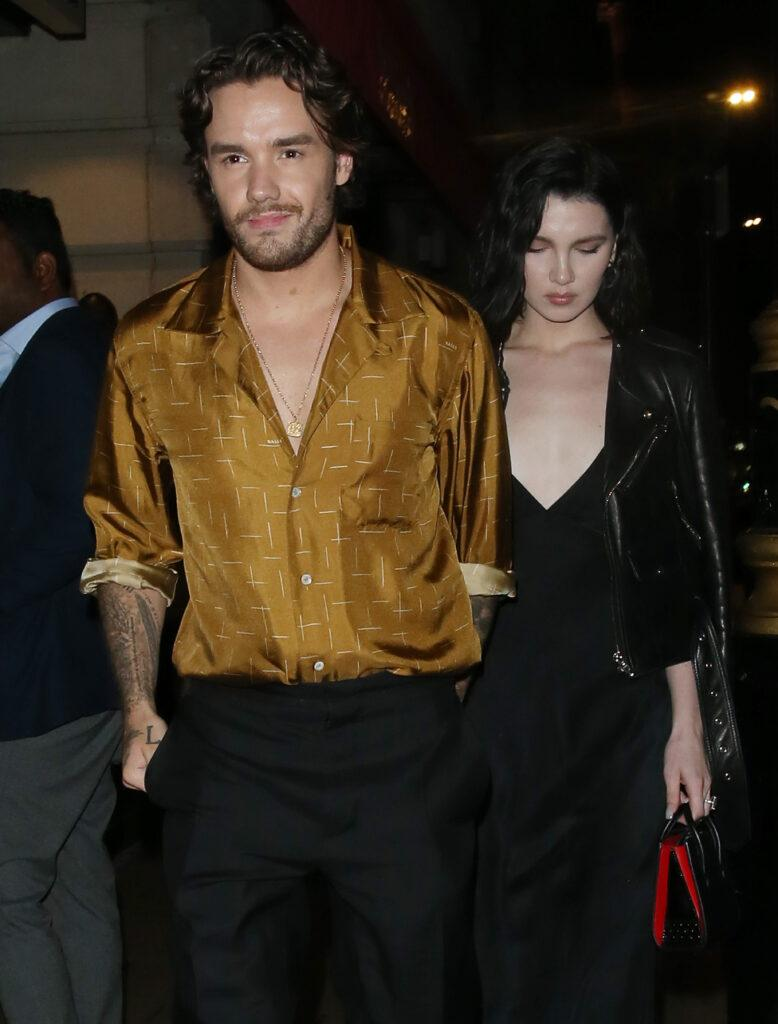 Liam Payne & Maya Henry holding hands