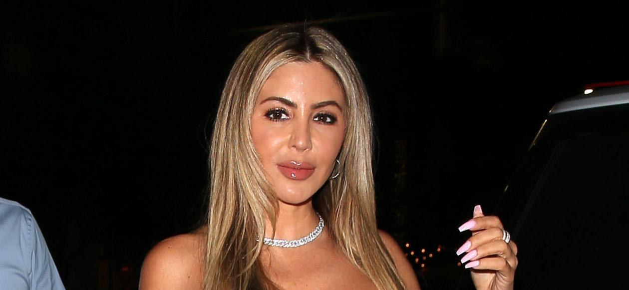 Larsa Pippen Shows Off Her Little Black Birthday Dress By Alexander Wang At Rooftop Miami Restaurant