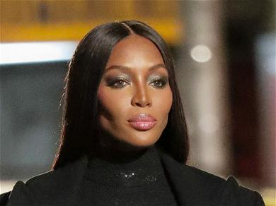 Naomi Campbell Shares Rare Glimpse Of Baby Daughter Wearing Versace