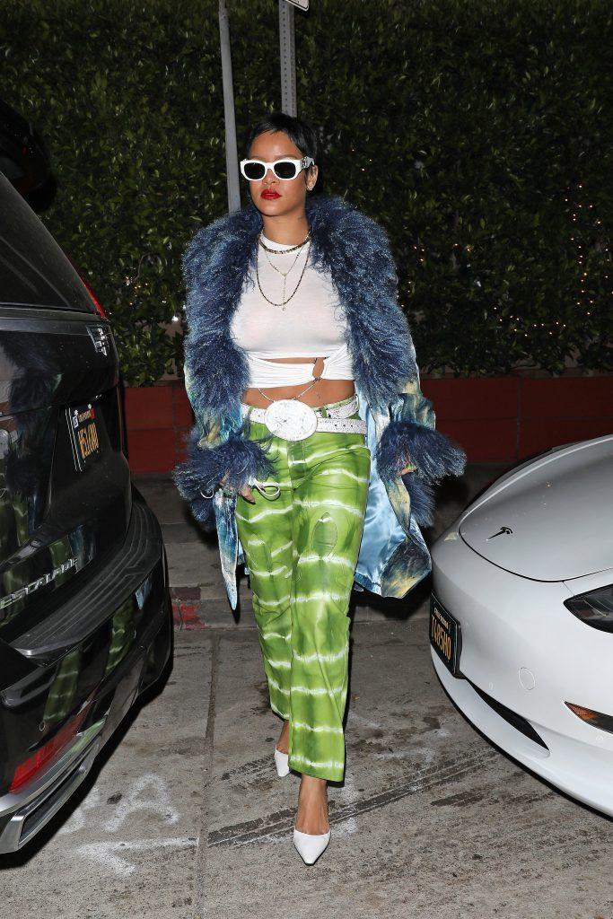 A fashionable Rihanna shows off her new short hair as she heads to Giorgio Baldi restaurant for dinner in Santa Monica. 06 May 2021 Pictured: Rihanna. Photo credit: Photographer Group/MEGA TheMegaAgency.com +1 888 505 6342 (Mega Agency TagID: MEGA752153_004.jpg) [Photo via Mega Agency]