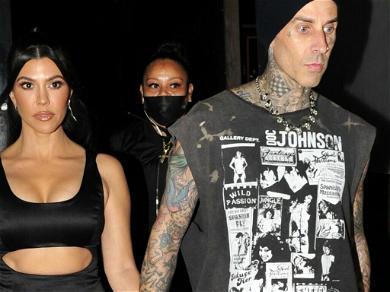 Kourtney Kardashian And Travis Barker Are NOT Engaged!