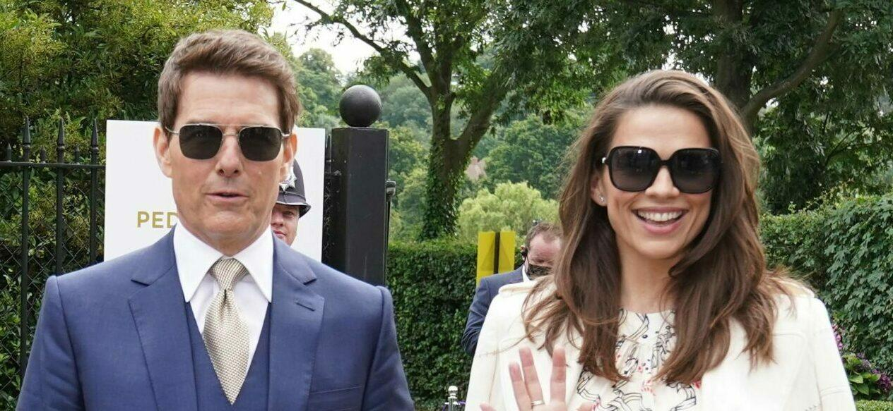 Tom Cruise and Rumored Girlfriend Hayley Atwell Get The Royal Treatment At Wimbledon