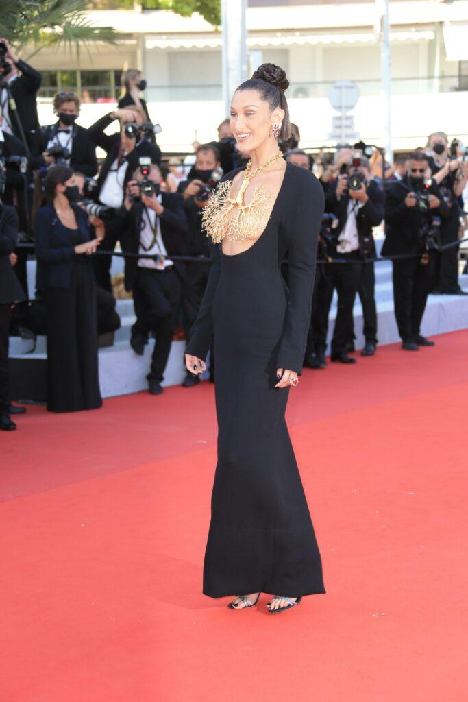 """Bella Hadid at the TRE PIANI / THREE FLOORS """" Red carpet the 74th Cannes Film Festival at Palais des Festival"""