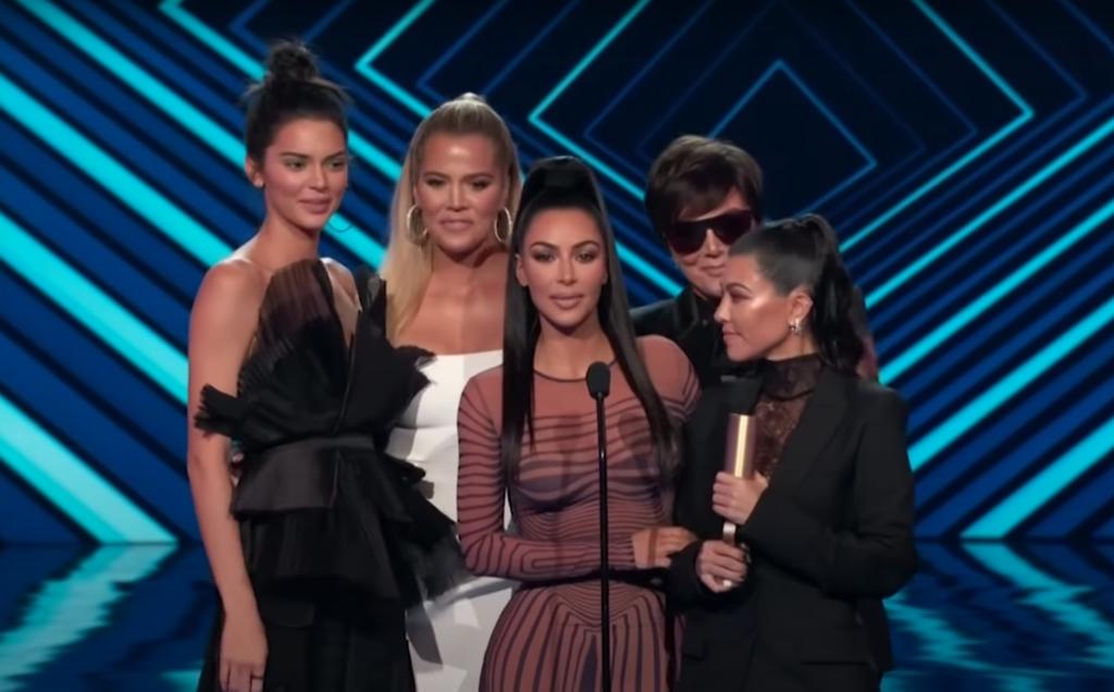 The Kardashian-Jenner women at the 2018 E! PCAs