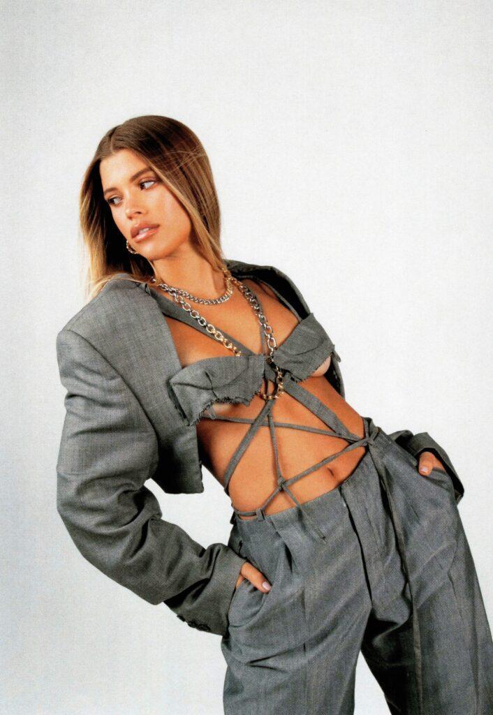 Sofia Richie chain necklace
