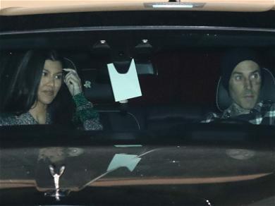 Kourtney Kardashian Allows Travis Barker To CHOP Off Her Hair —  See The Photos!
