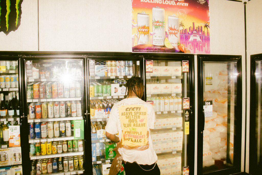 Travis Scott In Store With CACTI-