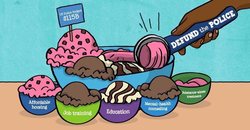 Ben & Jerry's defund the police ice cream tweet