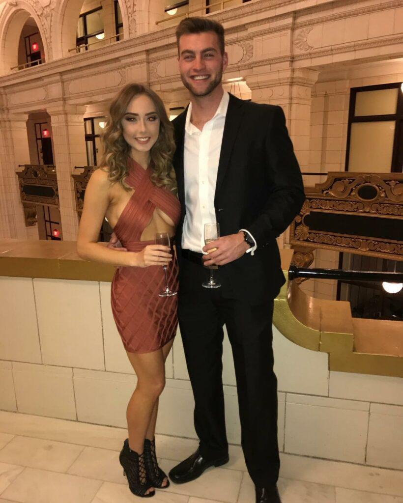 Hailie Jade and her boyfriend Evan McClintock