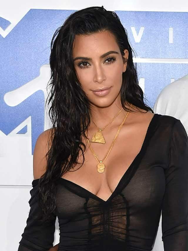 Kim & Kids Spotted Supporting Kanye At 'DONDA' Listening Party