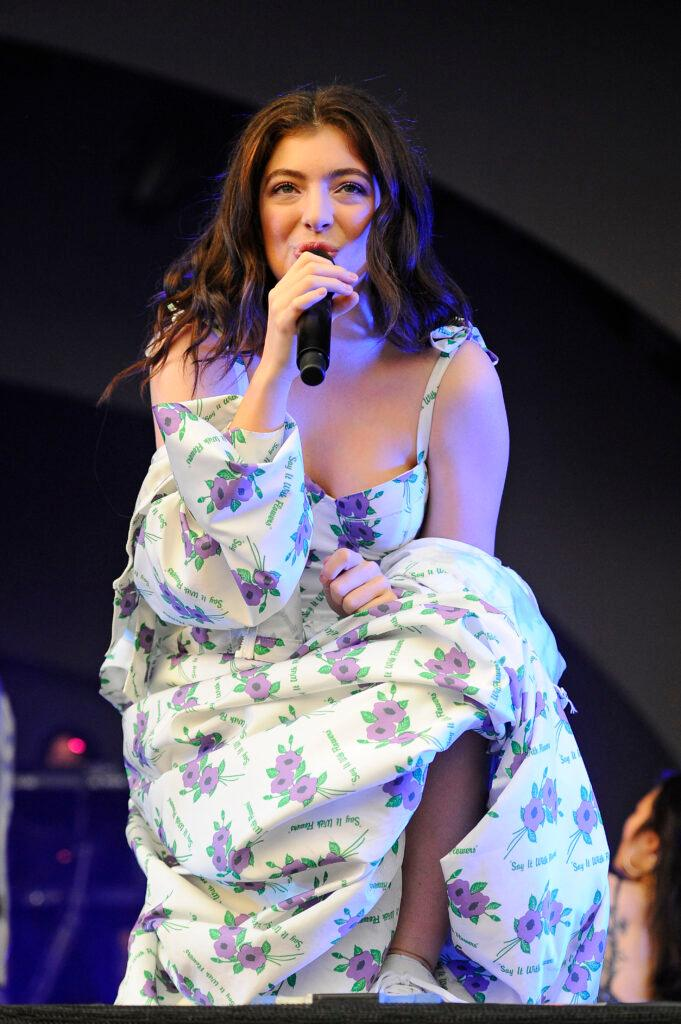 Lorde performing at ALL POINTS EAST
