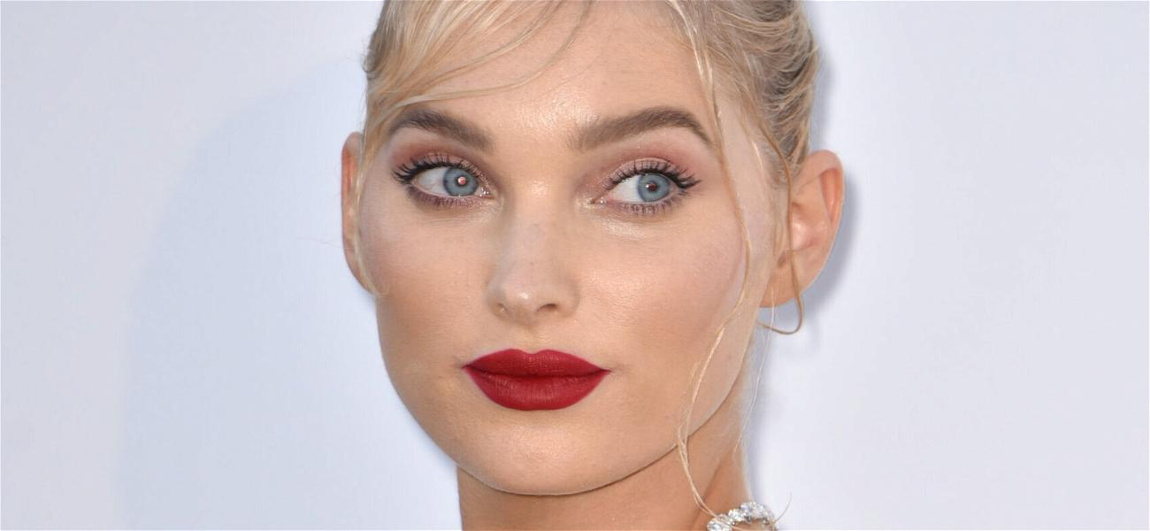Elsa Hosk Looks Smoking Hot In A Bold Red Bikini For 'Pool Day'